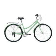 Велосипед FORWARD TALICA 28 2.0 2021 мятный / белый