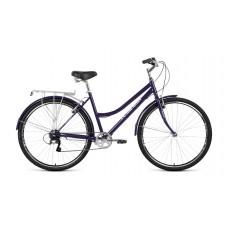 Велосипед FORWARD TALICA 28 2.0 2021 темно-синий / сиреневый