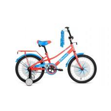 Детский велосипед FORWARD AZURE 20 2021 кораловый / голубой