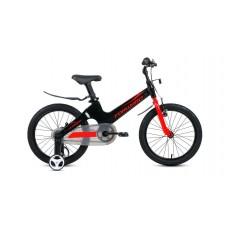 Детский велосипед FORWARD COSMO 18 2021 черный / красный