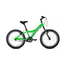 Детский велосипед FORWARD COMANCHE 20 1.0 2021 ярко-зеленый / белый
