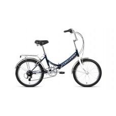 Велосипед FORWARD ARSENAL 20 2.0 2021 темно-синий / серый