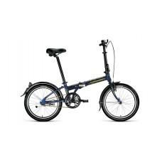 Велосипед FORWARD ENIGMA 20 1.0 2021 синий / зеленый