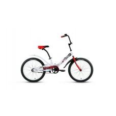 Детский велосипед FORWARD SCORPIONS 20 1.0 2021 белый / красный