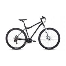 """Велосипед FORWARD SPORTING 29 2.2 DISC 19"""" 2021 черный / белый"""