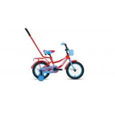 Детский велосипед FORWARD FUNKY 14 2021 красный / голубой