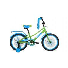 Детский велосипед FORWARD AZURE 20 2021 зеленый / голубой