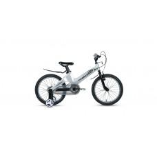 Детский велосипед FORWARD COSMO 16 2.0 2021 серый