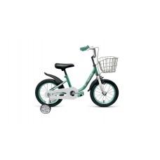 Детский велосипед FORWARD BARRIO 16 2021 бирюзовый