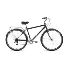 Велосипед FORWARD DORTMUND 28 2.0 2021 черный / серебристый