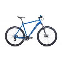 """Велосипед FORWARD APACHE 29 X 17"""" 2021 синий / серебристый"""