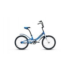 Детский велосипед FORWARD SCORPIONS 20 1.0 2021 синий / белый