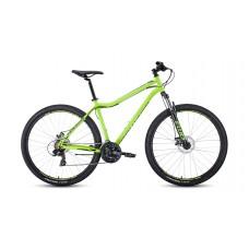 """Велосипед FORWARD SPORTING 29 2.2 DISC 19"""" 2021 ярко-зеленый / черный"""
