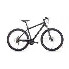 """Велосипед FORWARD SPORTING 29 2.1 DISC 19"""" 2021 черный матовый / черный"""