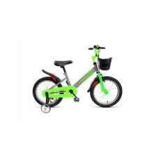 Детский велосипед FORWARD NITRO 18 2021 серый