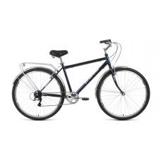 Велосипед FORWARD DORTMUND 28 2.0 2021 темно-синий / белый