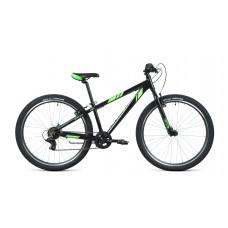 Велосипед FORWARD TORONTO 26 1.2 2021 черный / ярко-зеленый
