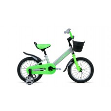 Детский велосипед FORWARD NITRO 14 2021 серый