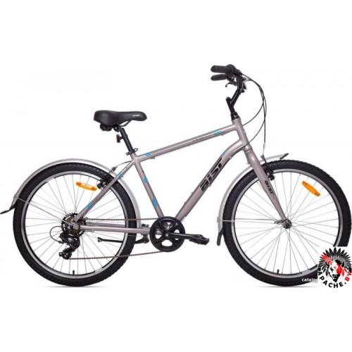 Велосипед Aist Cruiser 1.0 р.21 2020 (графит)
